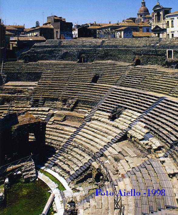 Catania-Teatro greco-romano