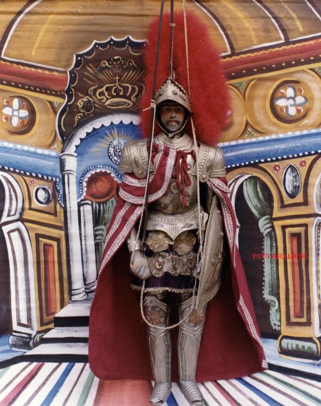 Carlo Magno,il re dei re,capo dell'esercito cristiano.