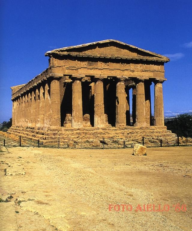 Agrigento-Tempio della Concordia