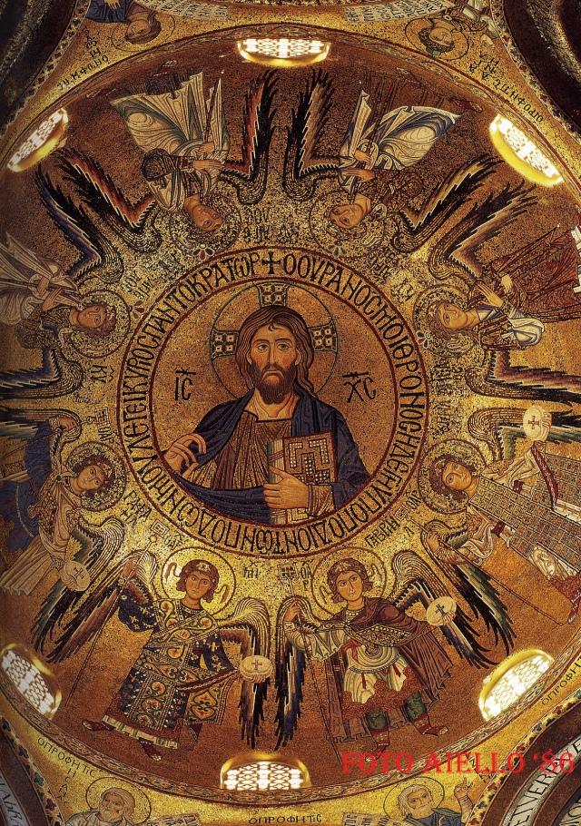 Palermo-Cappella Palatina-Cristo Pantocratore
