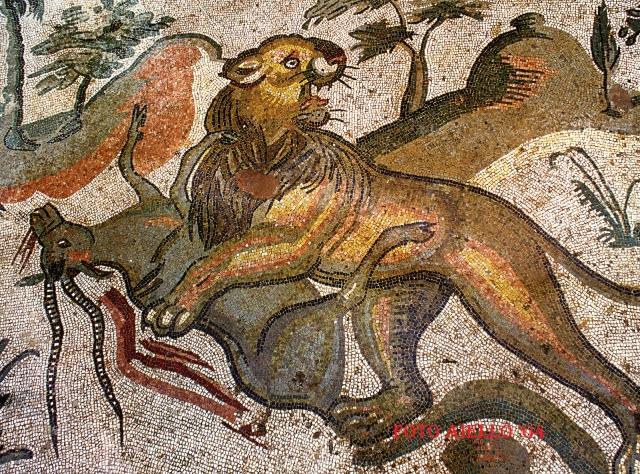 Piazza Armerina-Un espressivo mosaico da Villa Casale