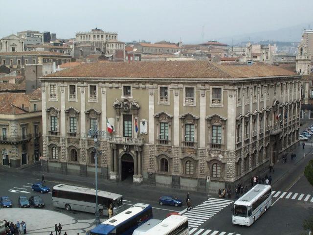 Catania Palazzo Comunale -foto Aiello