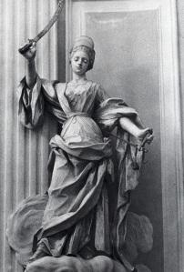 La Giustizia-Chiesa di Santa Chiara -Alcamo