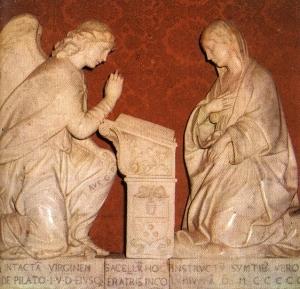 Erice-Antonello Gagini-Annunciazione-Gruppo marmoreo