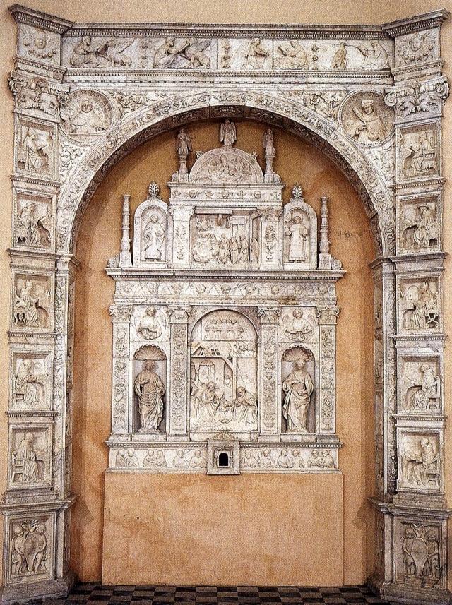 Antonello Gagini, Arco marmoreo-Chiesa Santa Cita -Palermo
