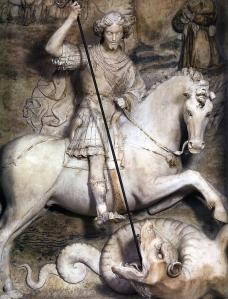Antonello Gagini-San Giorgio e il Drago-Chiesa di San Francesco