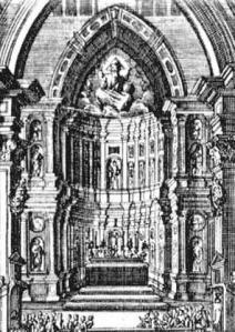 Incisione di Antonino Bova della Tribuna -1760