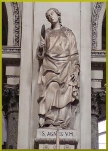 Duomo di Palermo -Sant'Agnese