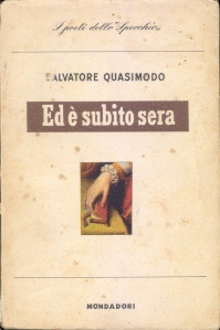 Salvatore Quasimodo-Ed è subito sera-1944