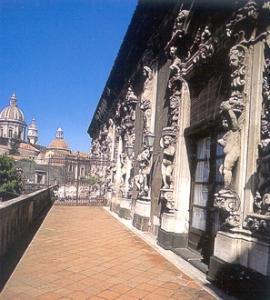 Catania-Uno scorcio di Palazzo Biscari