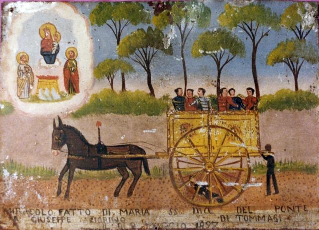 Miracolo fatto a Giuseppe Fiorino di Tommasi,2 maggio 1897