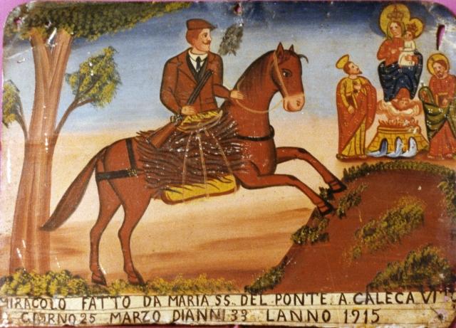 Miracolo fatto a Caleca Vito,25 marzo 1915