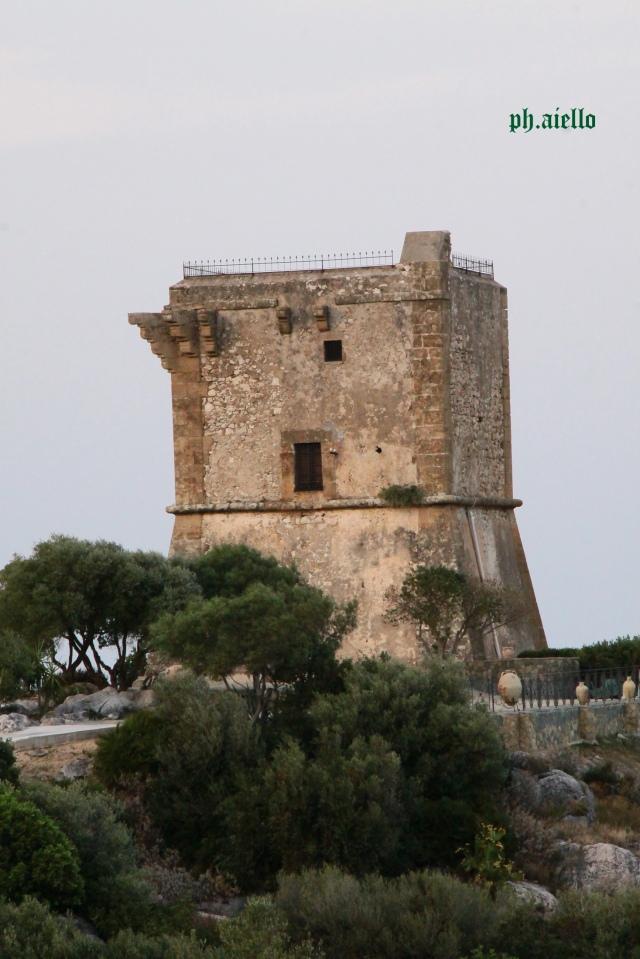 Scopello,Torre di guardia.
