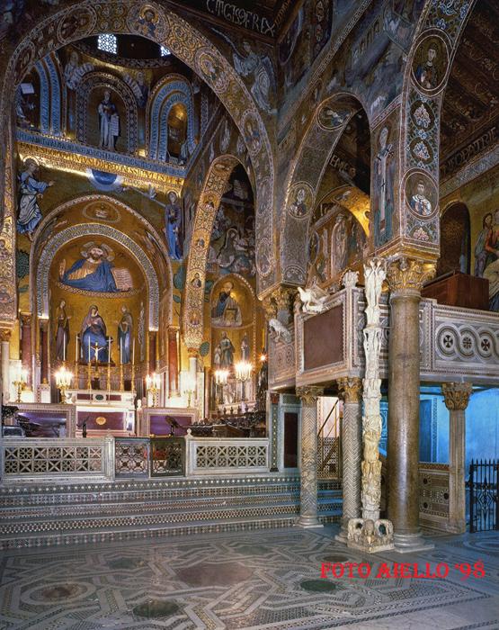 Palazzo Reale-Cappella Palatina-Palermo