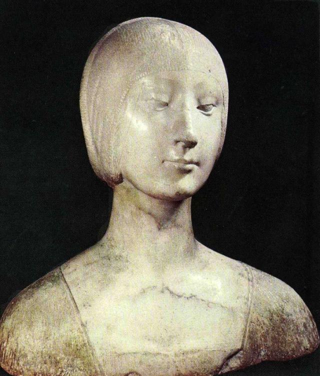 francesco-laurana-busto-di-eleonora-daragona-foto-1964 prima-del-restauro