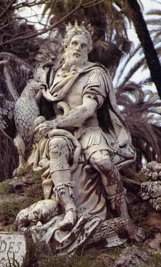 Il Genio di Palermo,staua del Marabitti