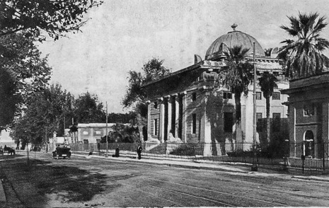 Foto del Gimnasyum del 1920
