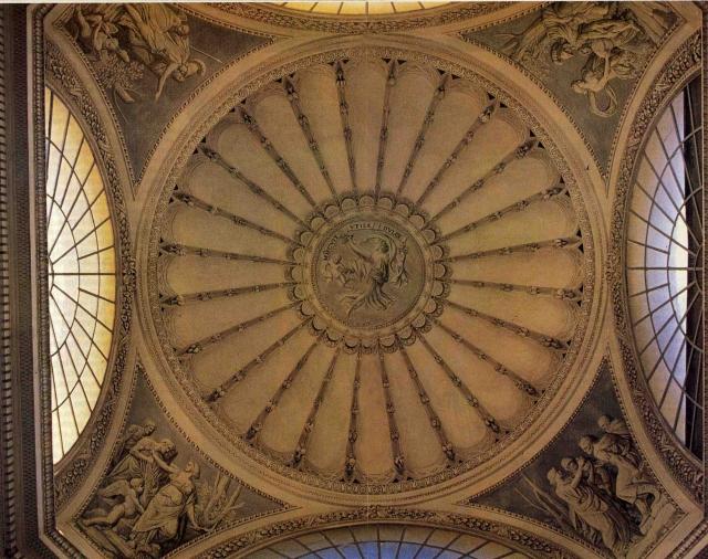 Particolare del soffitto di Giuseppe Velasquez