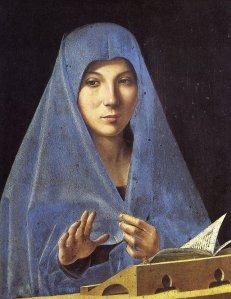 L'Annunciata di Antonello da Messina-Cefalù.