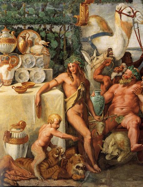 G.Romano-Salotto di Psiche,Apollo,Bacco.Mantova
