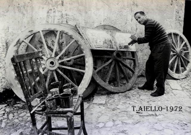 Giuseppe Manfrè,pittore di carri,1972