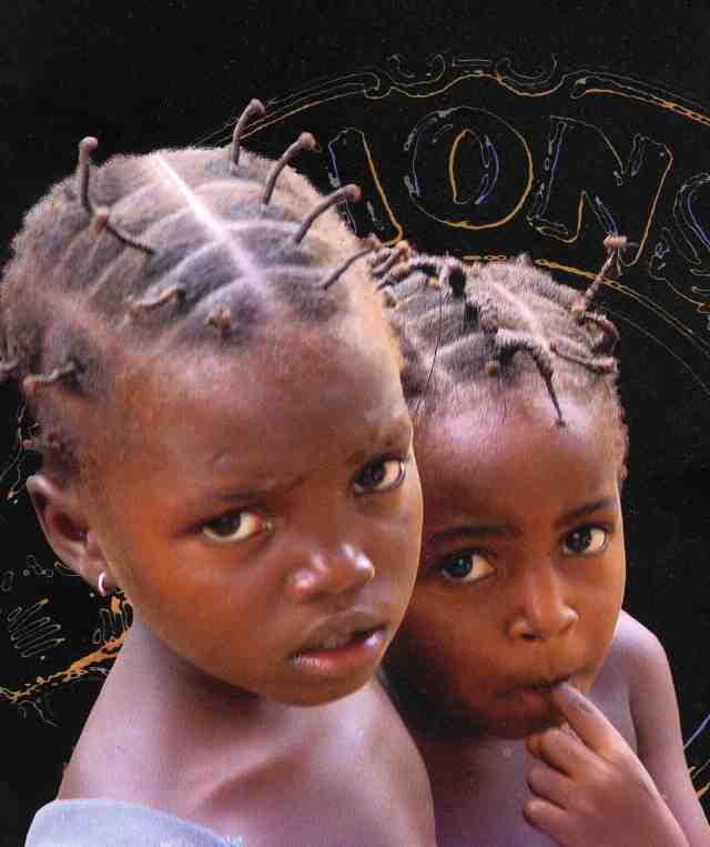 Bambini di Burkina Faso